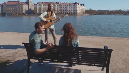 Janne ja Karri – Hei tyttö Music Video